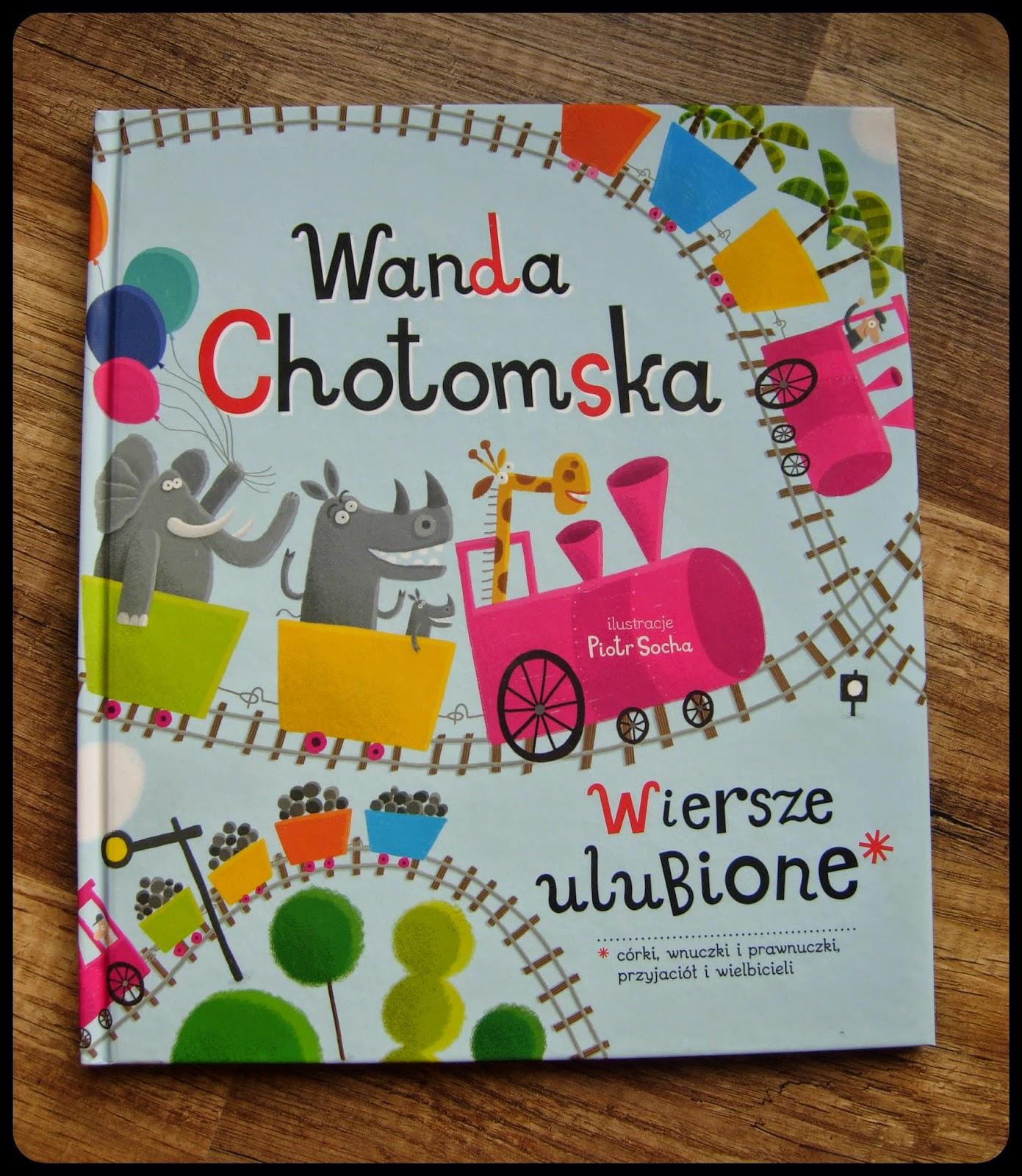 Gadki Szmatki Wiersze Ulubione Wanda Chotomska