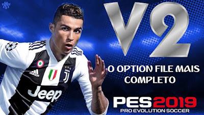 PES 2019 PS4 Option File v2 by Emerson Pereira Season 2018/2019