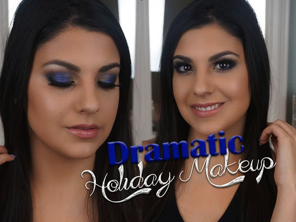 Dramatic Holiday Makeup Tutorial