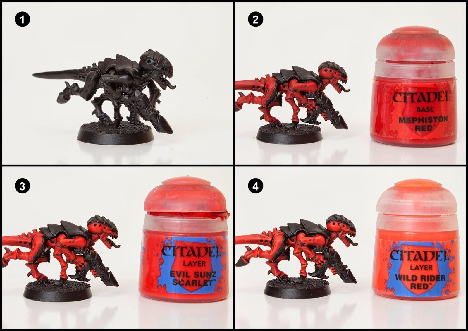 Citadel Red Paint Evil Sunz