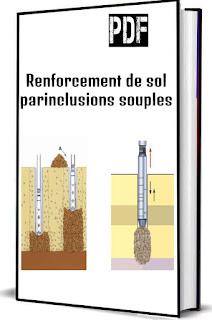 Renforcement de sol parinclusions souples