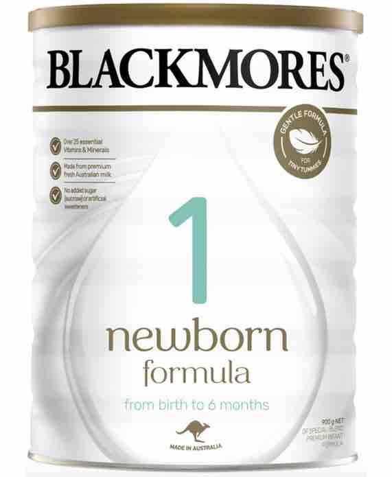 Blackmores 1 Newborn Formula 900g - Dùng cho trẻ trên 6 tháng tuổi