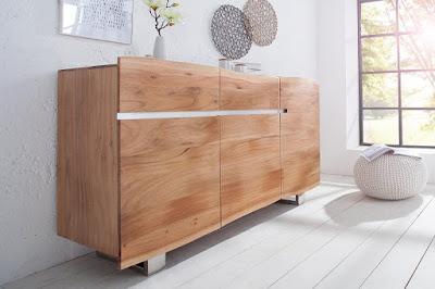 komody Reaction, nábytek z masivního dřeva, designový nábytek