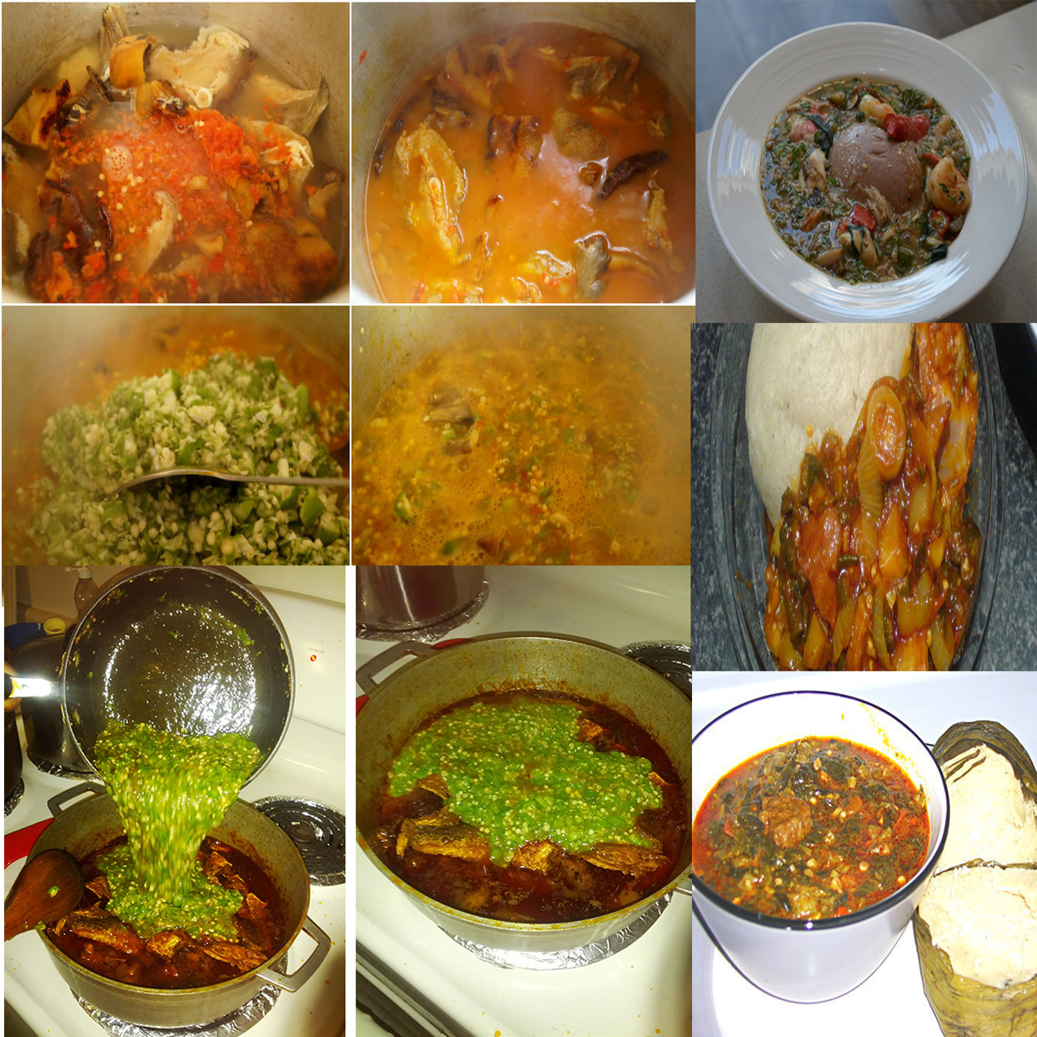 how to cook ghanaian stew