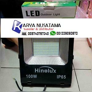 Jual LED Kap Sorot Terowongan 100 watt Hinolux di Bogor