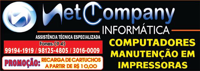 NETCOMPANY INFORMÁTICA -- ASSISTÊNCIA TÉCNICA ESPECIALIZADA -- COMPUTADORES, IMPRESSORAS E TABLETS