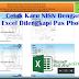 Cetak Karu NISN Dengan Excel Dilengkapi Pas Photo