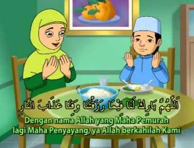 Keutamaan Doa Makan