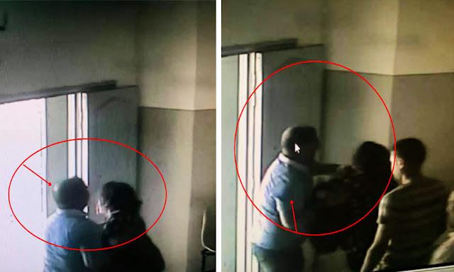 تونس: خطير جدا ... تسريب أول مقطع فيديو يوثّق إعتداء وحشي لـ رئيس مركز امن المروج 5 على محامية (فيديو)