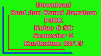 download soal uts pjok kelas 6 sd semester 1 kurikulum 2013 dan kunci jawaban