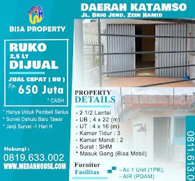 Rumah dijual daerah jl.BZ Hamid (katamso)  <del>Rp 700 Juta </del> <price>Rp 650 juta</price> <code>KATAMSO-1</code>