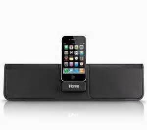 Ini adalah sebuah sistem portabel yang sangat baik juga populer dari merk iHome. Mendukung suara besar dan baterai internal rechargable,