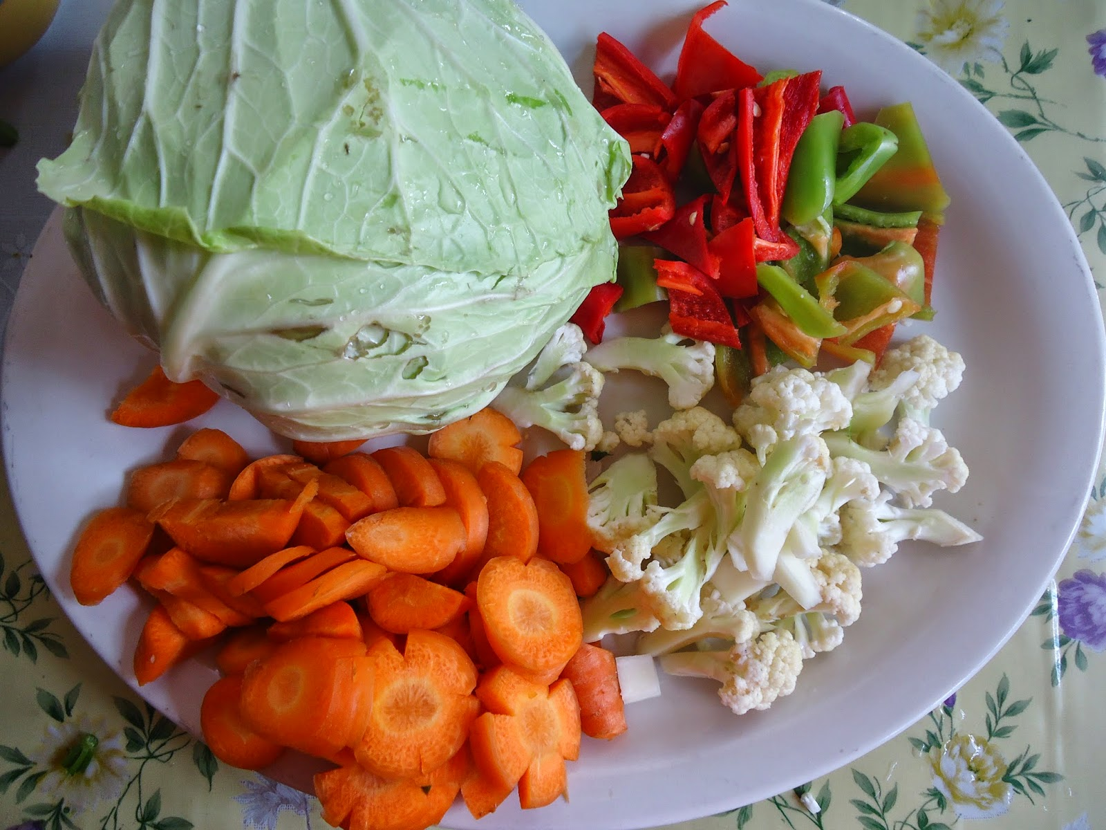 vegetables for Chop Suey