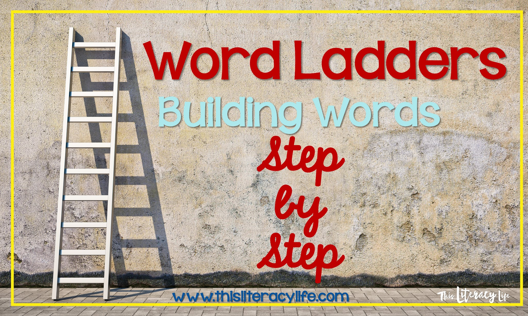 Building words by sound is a crucial step in learning to read and spell. Word Ladders help students master this skill.