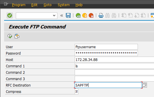 SAP Basis For Beginner: How to test FTP Connection on SAP GUI