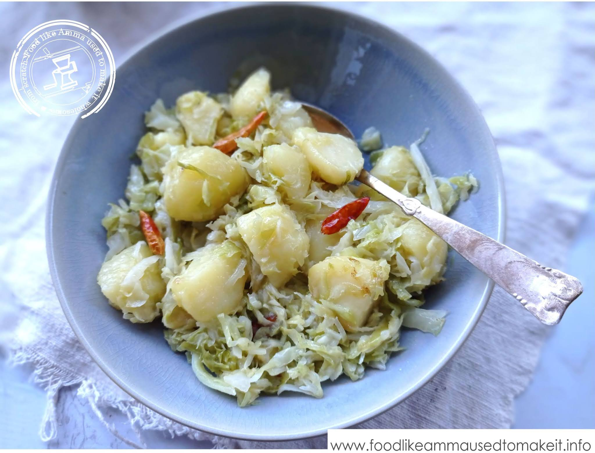 South African Cabbage Curry Recipe