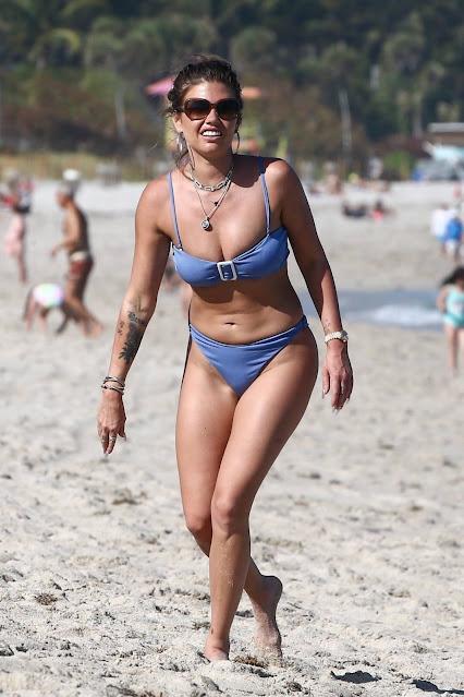 Chanel West Coast – In lavender bikini in Miami