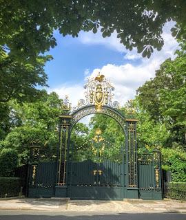 Visite guidée des jardins des Champs-Elysées