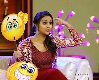 Keerthy Suresh with Cute and Lovely Expressions in No1 Yaari