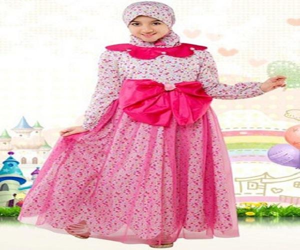 Model baju anak perempuan terbaru dress korea jepang bahan Foto baju gamis anak muda terbaru
