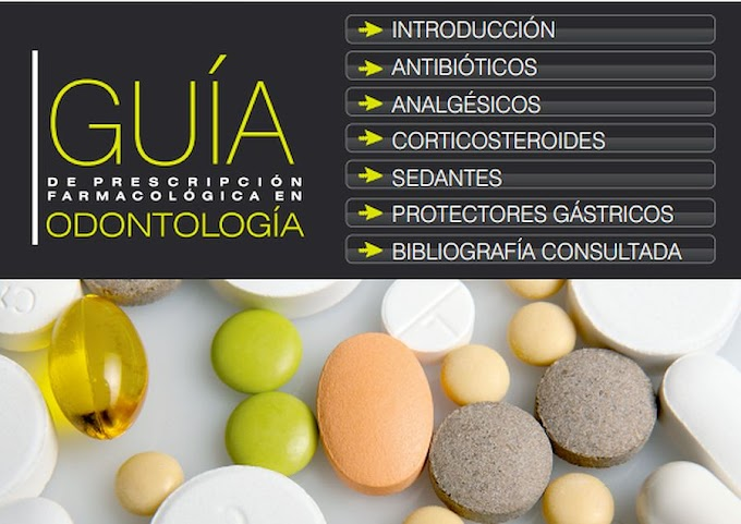 LIBROS DE ODONTOLOGÍA: Guía de prescripción farmacológica en Odontología - Carmen Durán Parrondo