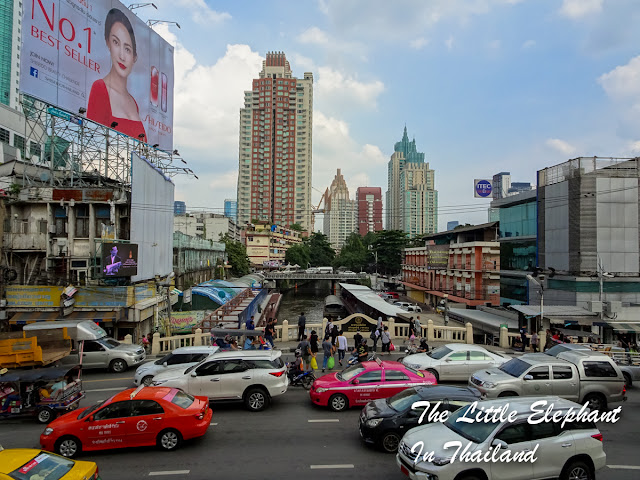 Streetview in Bangkok, Thailand
