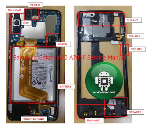 Full Schematic Samsung Galaxy A70 A705F Service Manual_Free