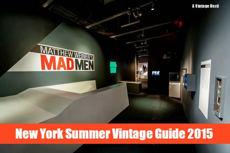 A Vintage Nerd Vintage Blog MOMI NY Museum of Moving Image MadMen Exhibit 1960s TV Shows