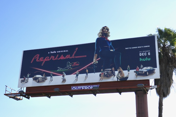 Reprisal extension cut-out billboard