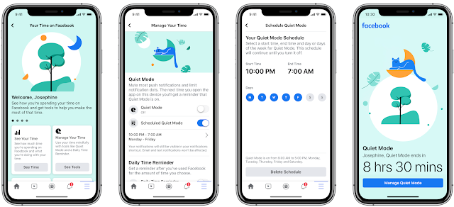 Facebook Introduces 'Quiet Mode' to Help Users Manage Time Spent on the App