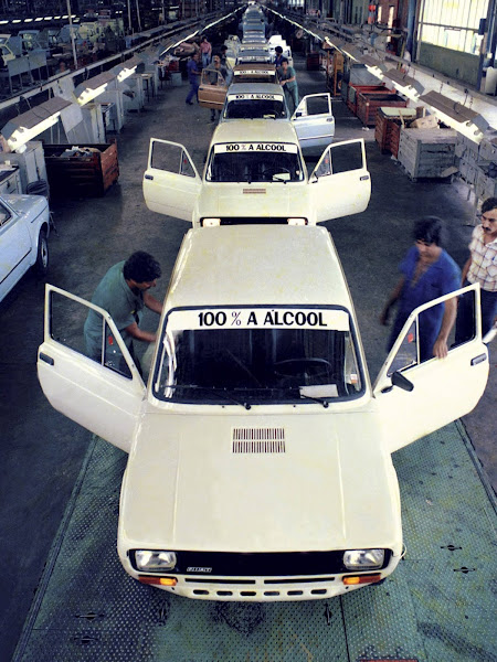 Fiat 147 álcool em produção em Betim (MG)