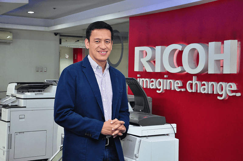 Mr. Eric Sulit, President & CEO of Ricoh Phils