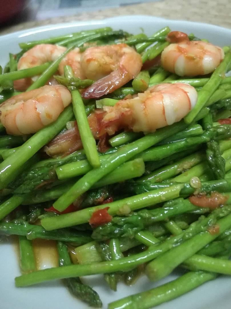 Sayur Asparagus Goreng Belacan Fauziahsamad Com