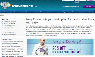 Ivoryresearch.net Paper Writing Service Picture