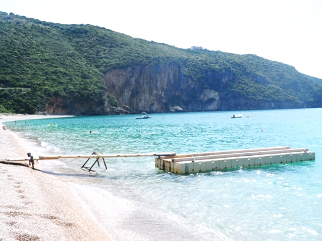 Lichnos beach in Parga.Lihnos plaza Parga.Must-see in Parga.Parga beaches.
