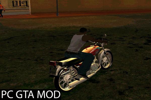 Free Download  Honda CG 125  Mod for GTA San Andreas.
