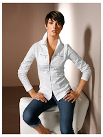 Bluza cu guler tip camasa (Heine)