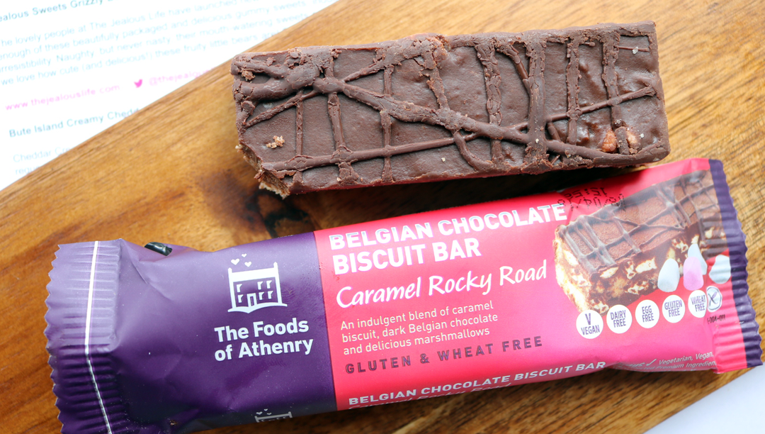 The Foods of Athenry Belgian Chocolate Biscuit Rocky Road Bar