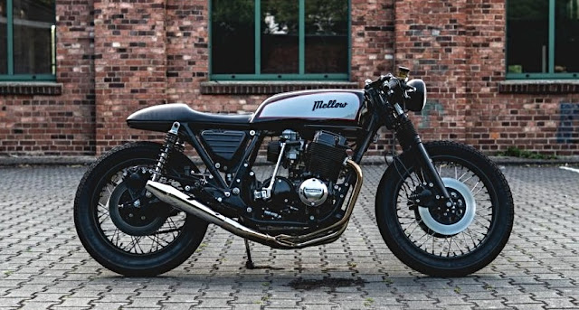 Honda CB750 By Mellow Motorcycles Hell Kustom