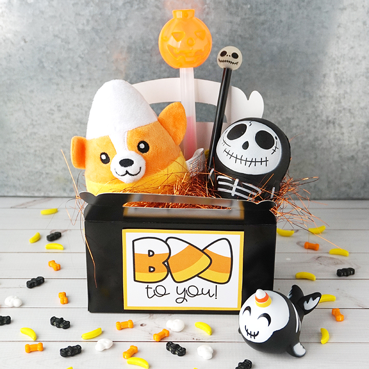 Halloween Boo Gift Box with Free Printable Tag
