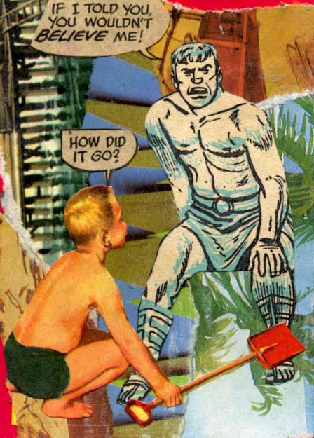 Collage featuring retro kids