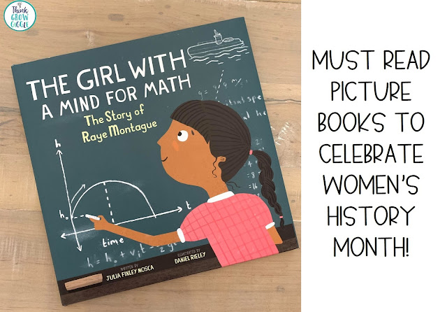 womens history month picture books for 5th grade