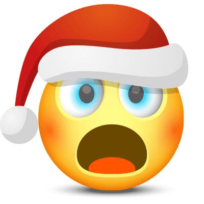 Shocked Santa