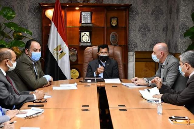 وزير الرياضة يتابع تجهيزات استضافة مصر لبطولة العالم للخماسي الحديث.