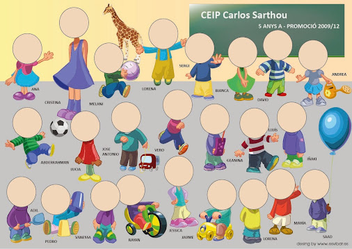 Modelos renovados de plantillas para orlas de infantil 2014