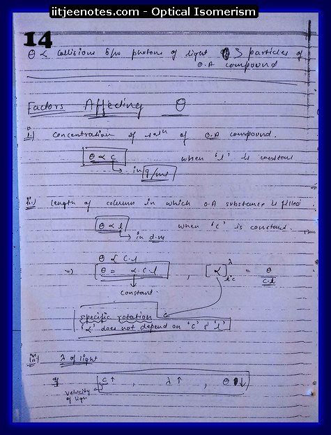 Optical Isomerism CHEMISTRY4