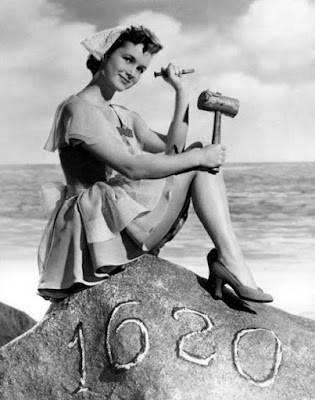 Debbie Reynolds, Plymouth Rock Pilgrim Pin-up