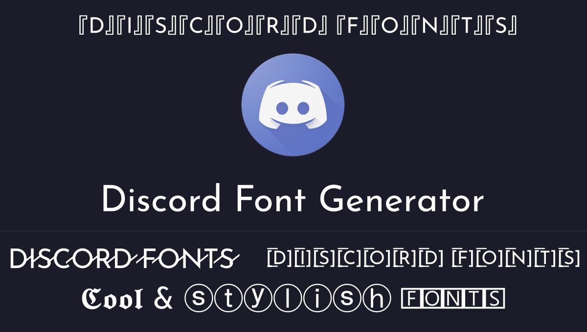 discord fonts