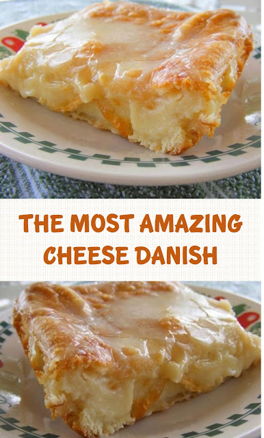 The Most Amazing Cheese Danish