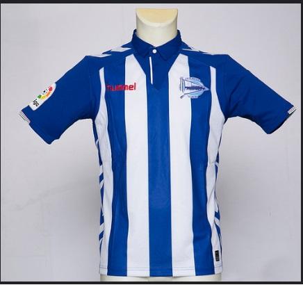 e33ca22f3bc48 Equipaciones Hummel del Alavés 2016 2017 - Nuevo Fútbol